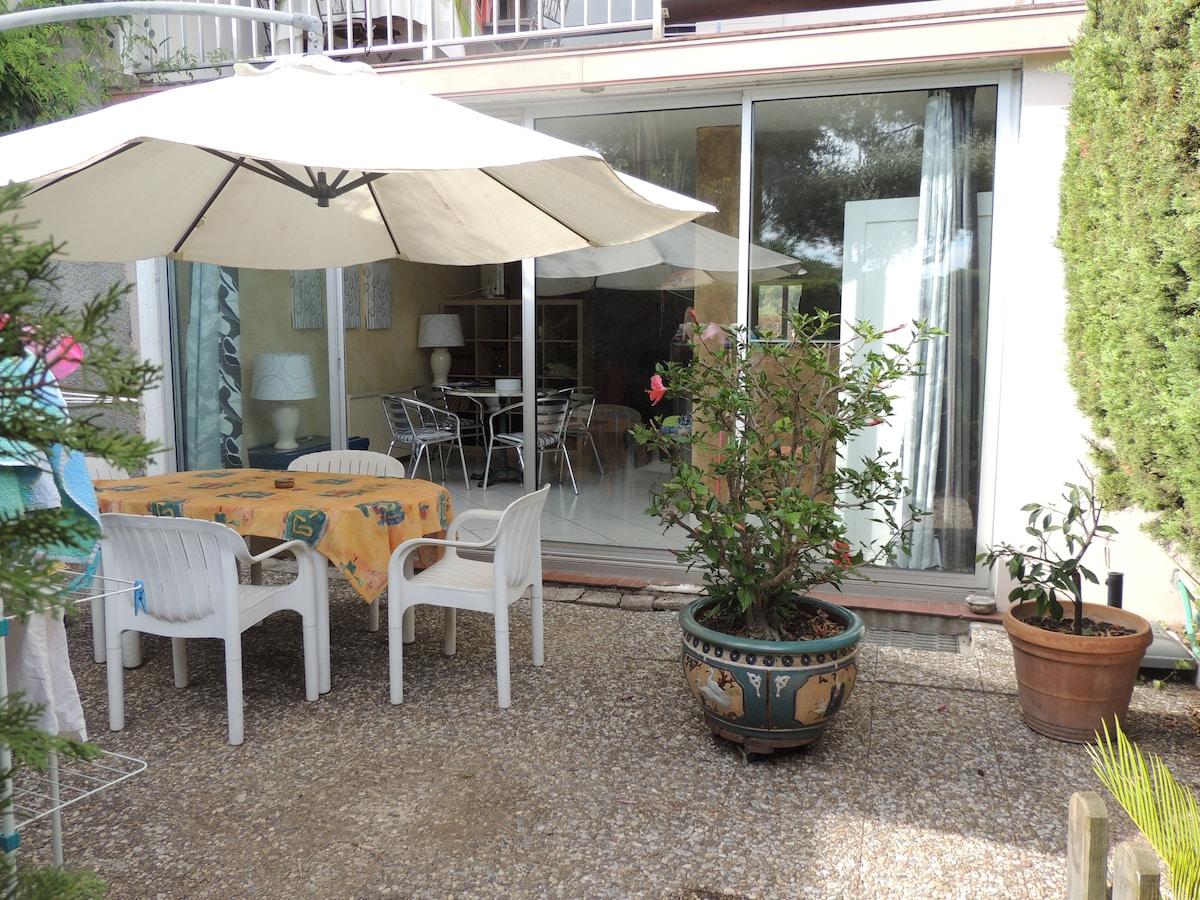 60 m2 en rez de jardin tout confort