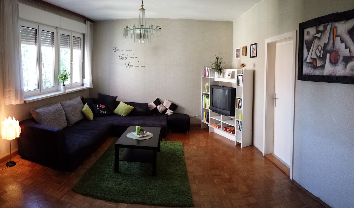 Cozy green home in Graz :)