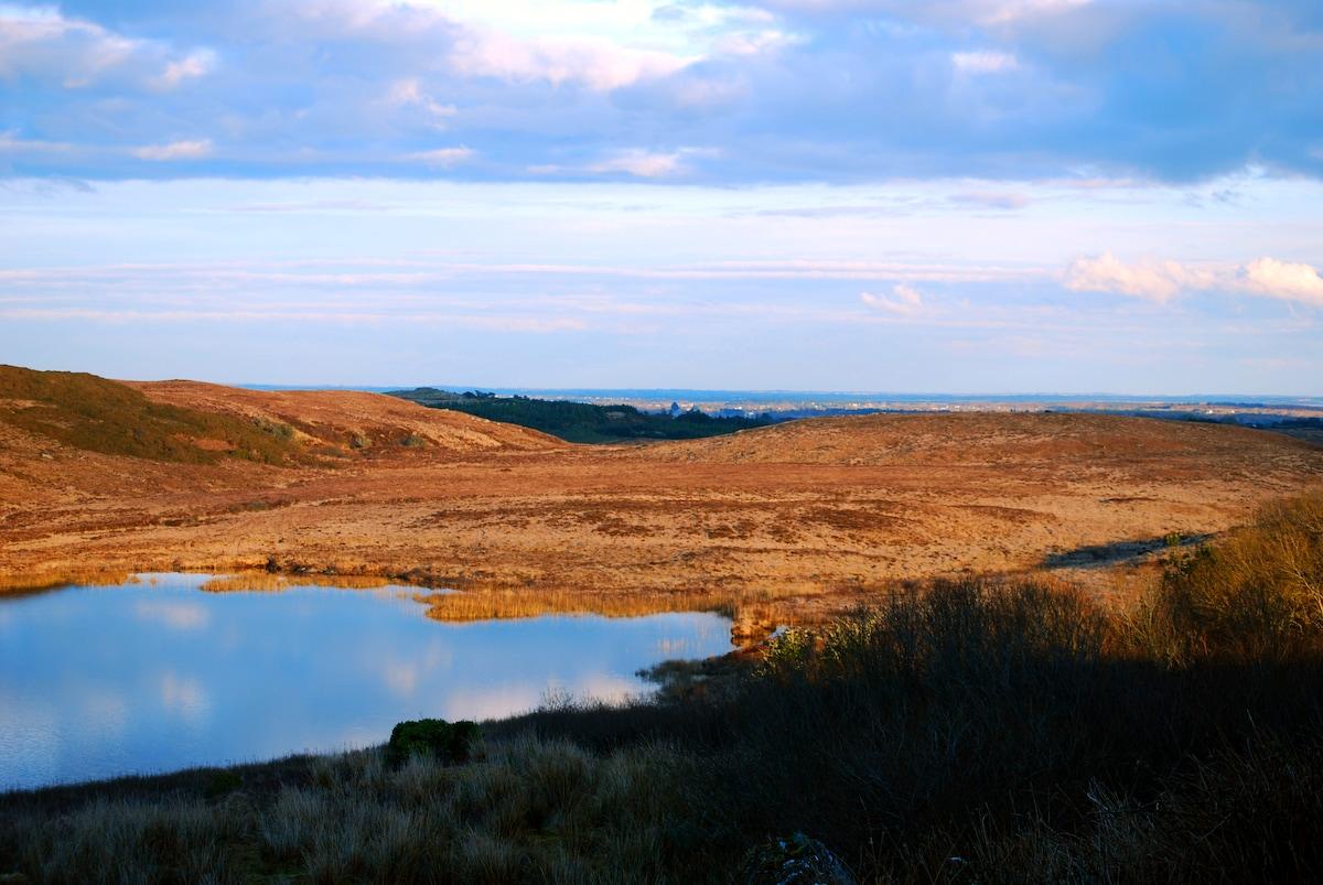 Idyllic views in Connemara, Galway.