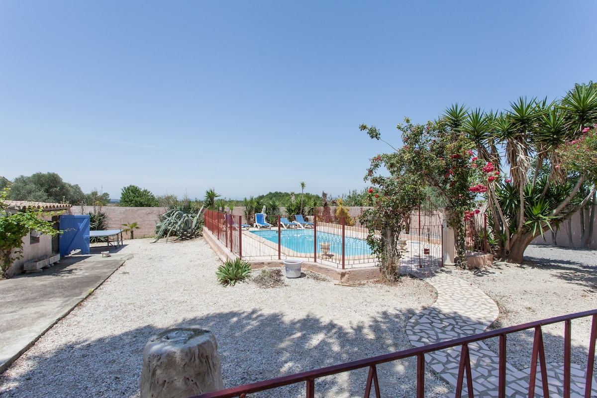 Villa 4bd Swimpool - 15min to beach