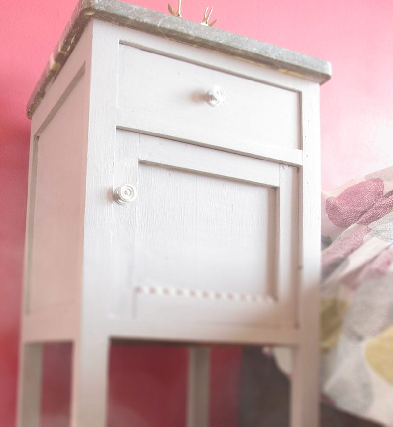 Bedside table, to fit your  keys/wallet