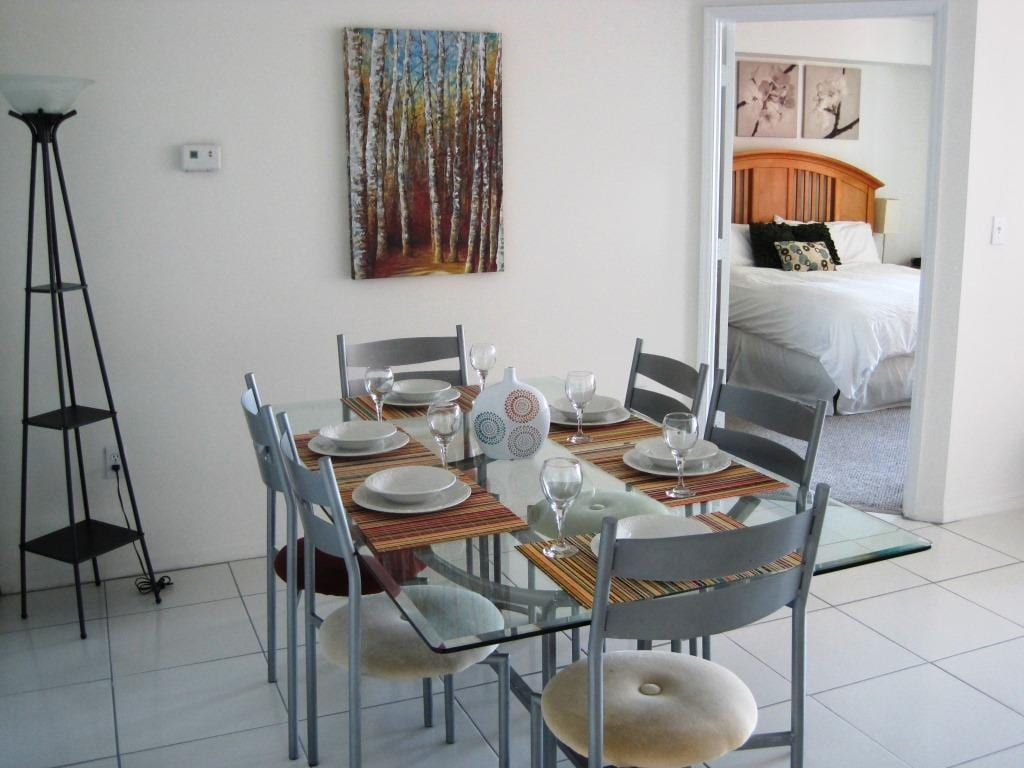 Dining Area/ Master Bedroom