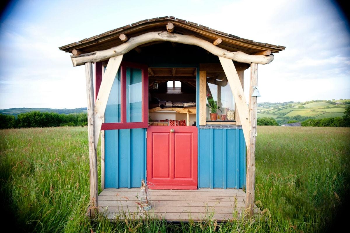 Kian's Beautiful Hand-crafted Cabin