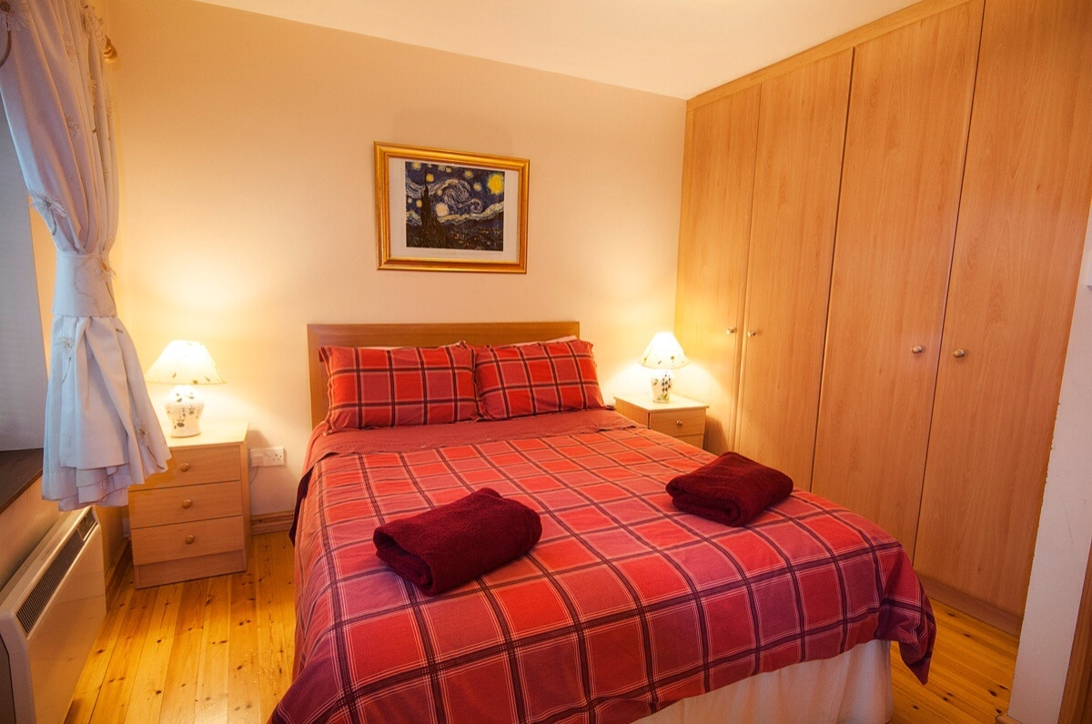 Comfortable bright airy double room