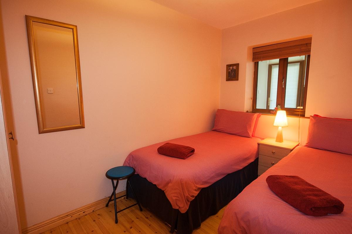 Twin room, clean, sleek and cosy
