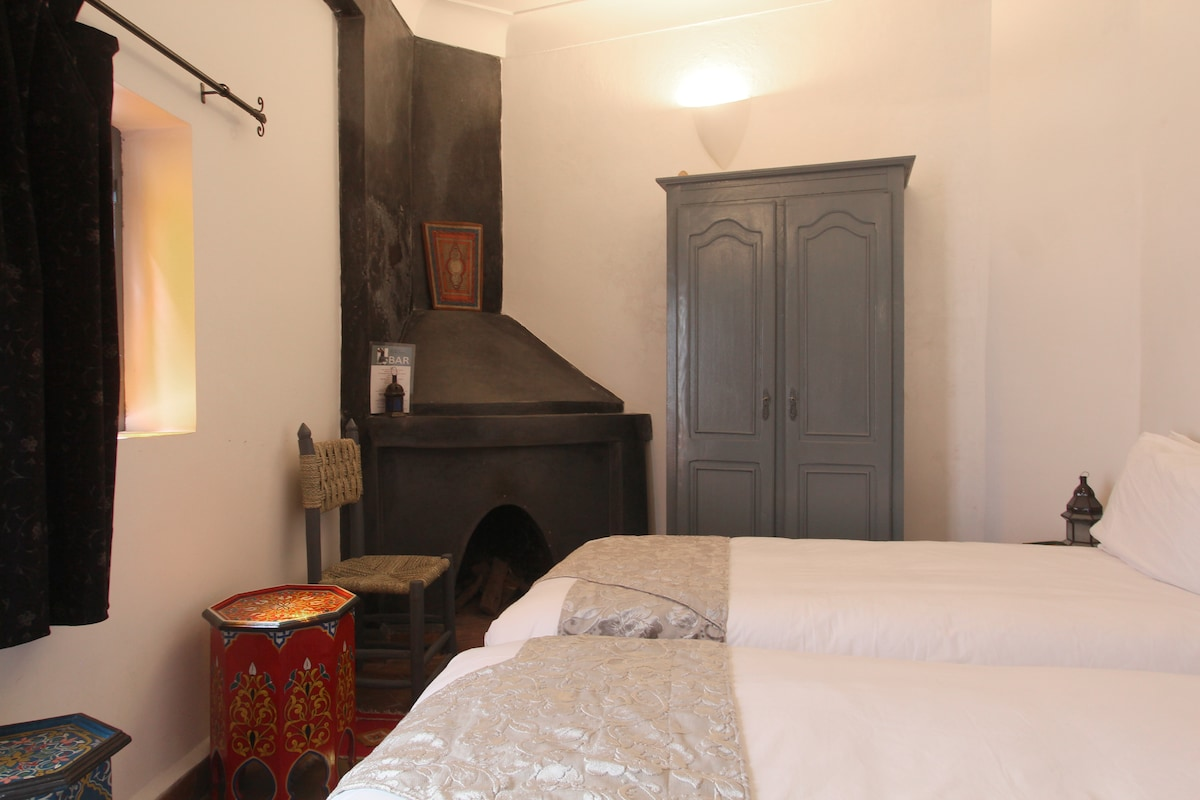 Marrakech riad Ali Baba room