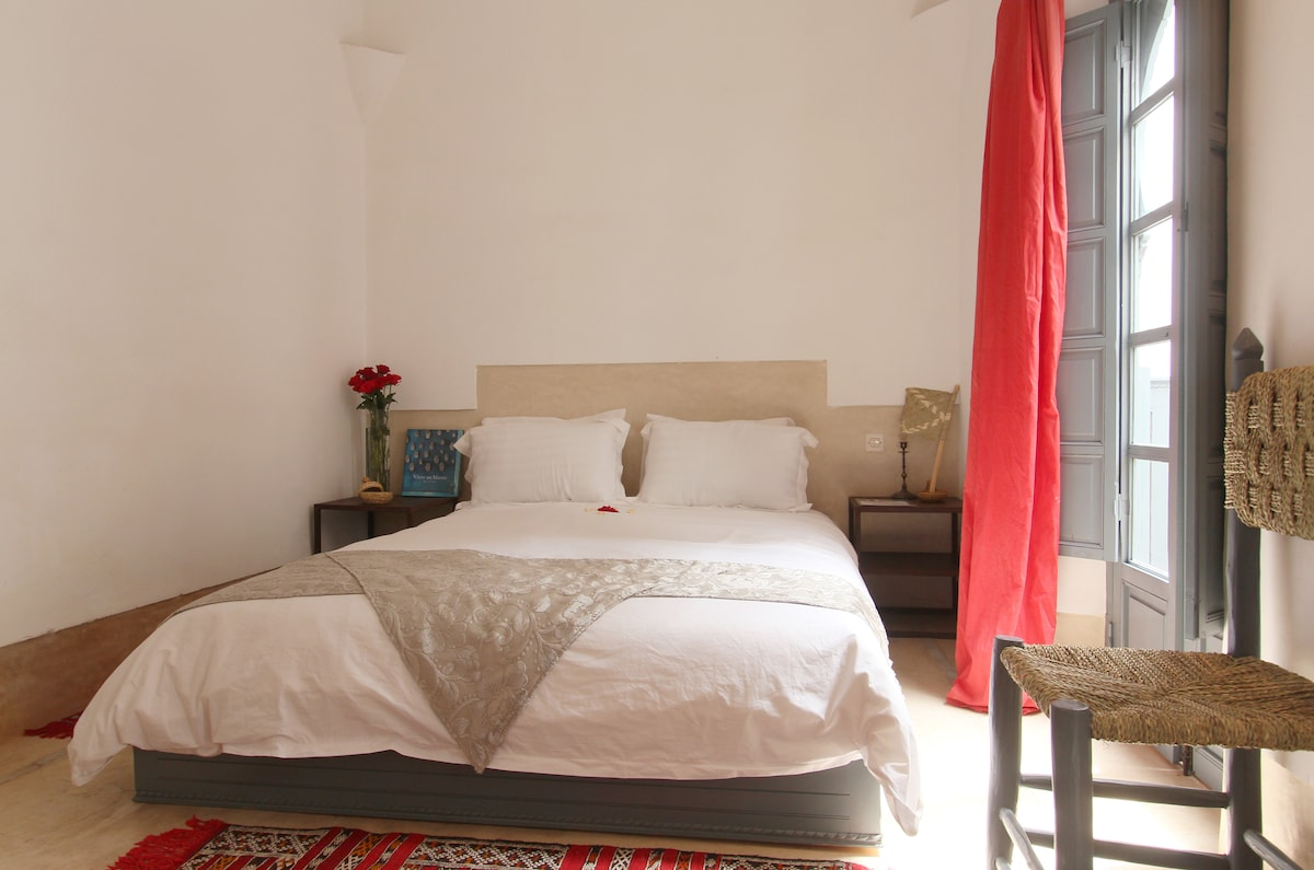 Marrakech riad Sheharazade room