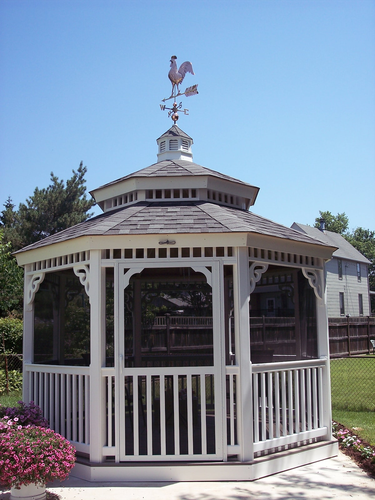 backkyard gazebo
