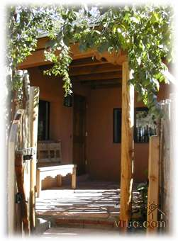One of 2 different patio entrances to casita