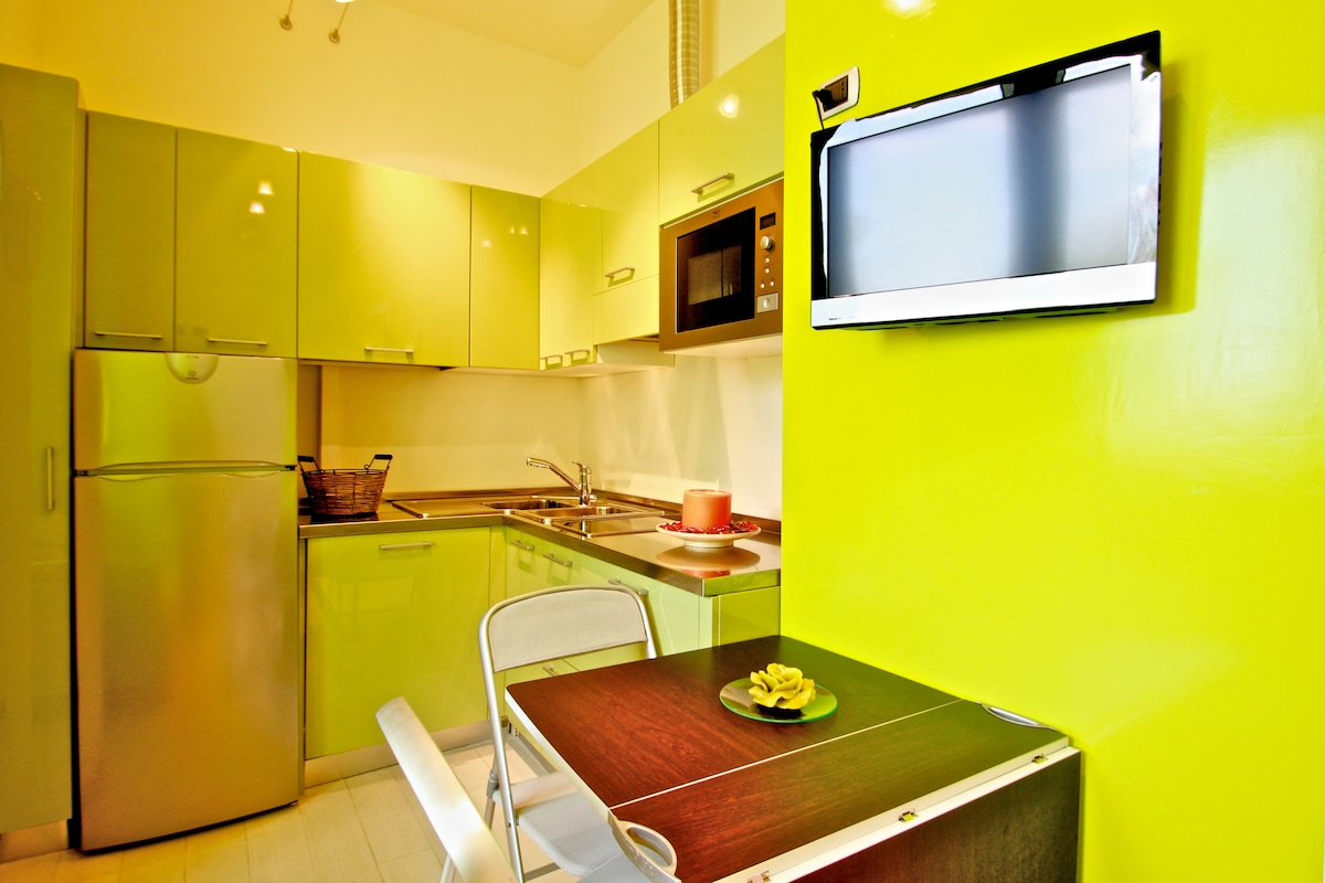 Green Apartment, Siena centre
