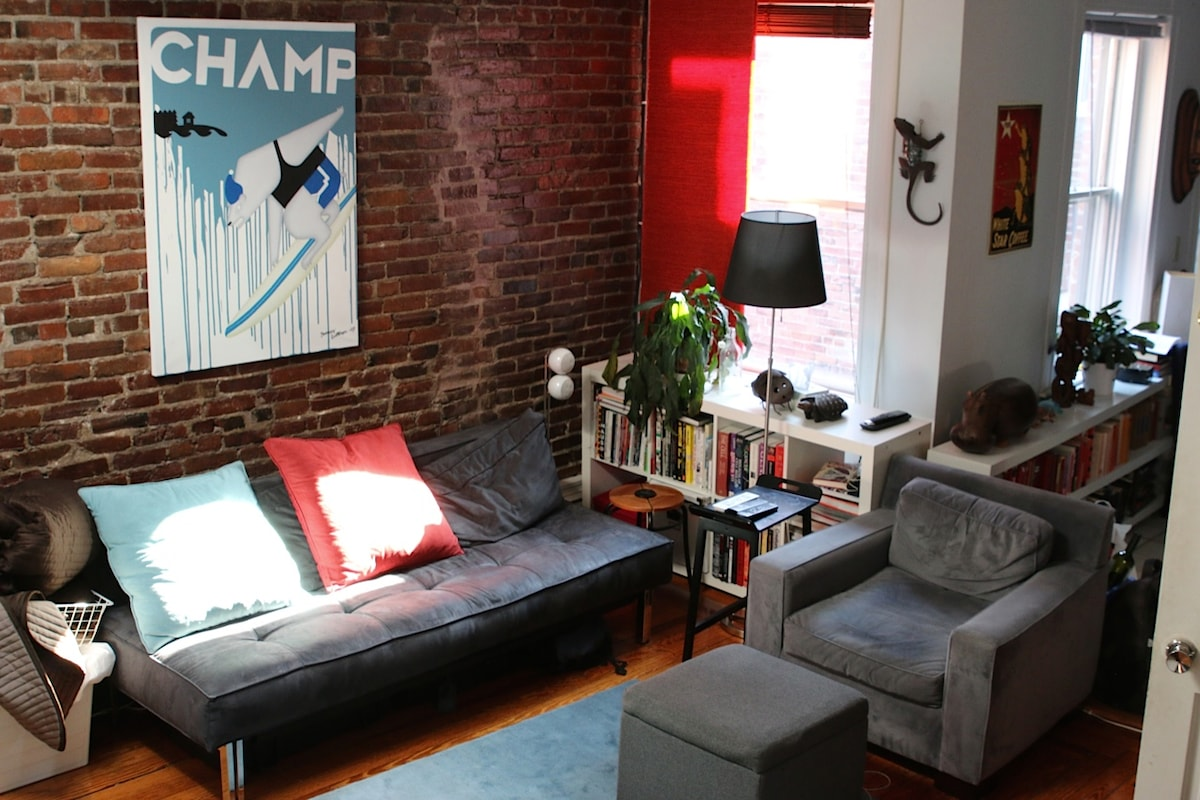Room in penthouse apt /Beacon Hill