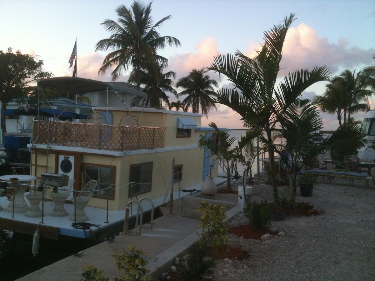 Our Key Largo Everglades Amor 38' houseboat