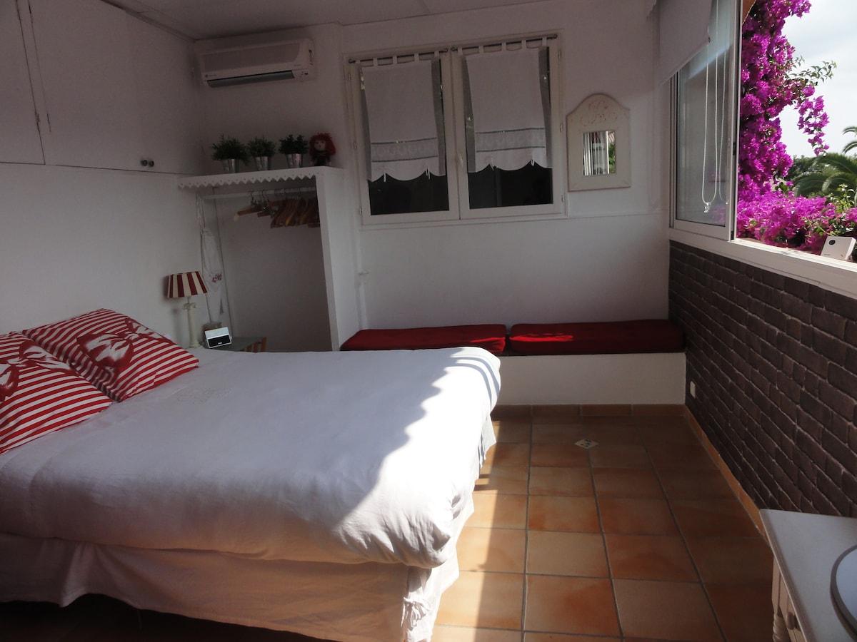Chambre 1 de la suite familiale