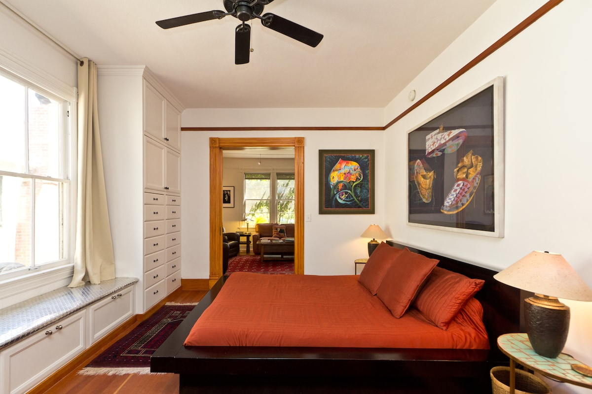 Original artwork and comfortable furnishings will help make your Santa Barbara stay truly rejuvenating.