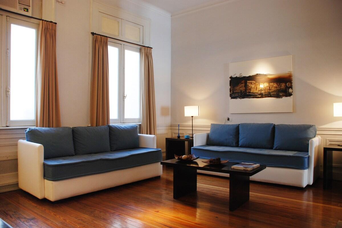 Stylish, comfortable living room