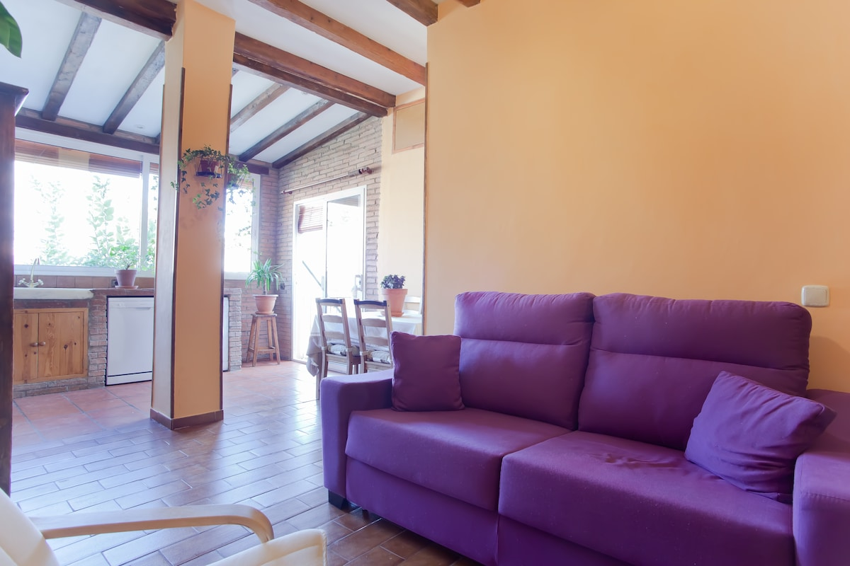 Rustic apartment Parc Guell II