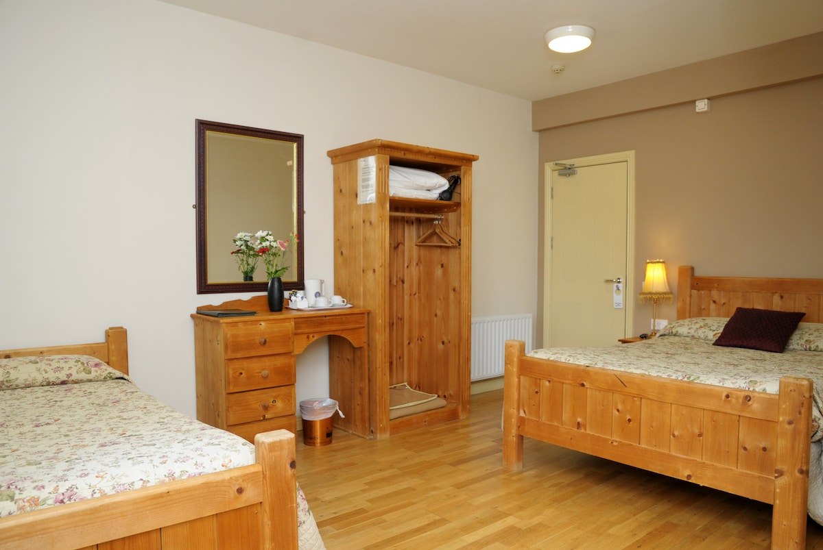 Double and Single Room