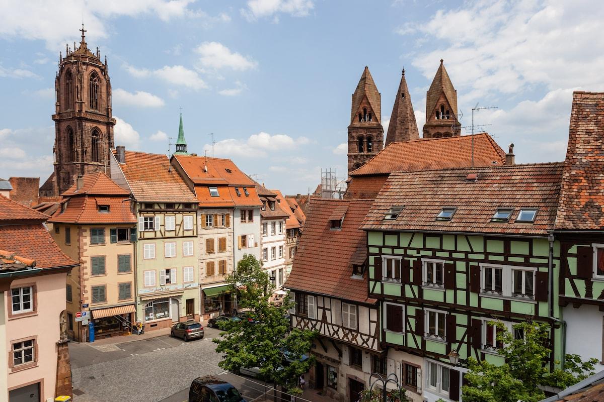 Sélestat Alsace - Le perchoir