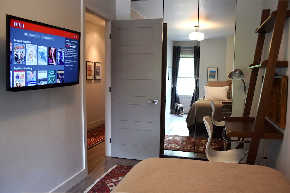 Private Room, Netflix & HDTV $63!