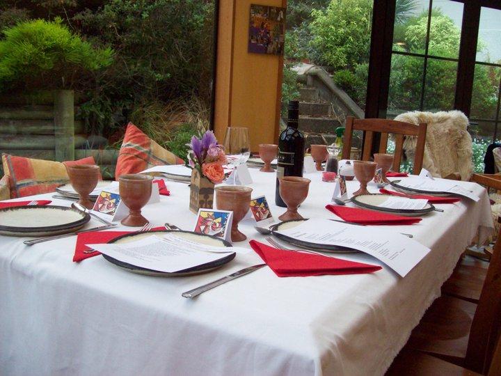 Conservatory dining