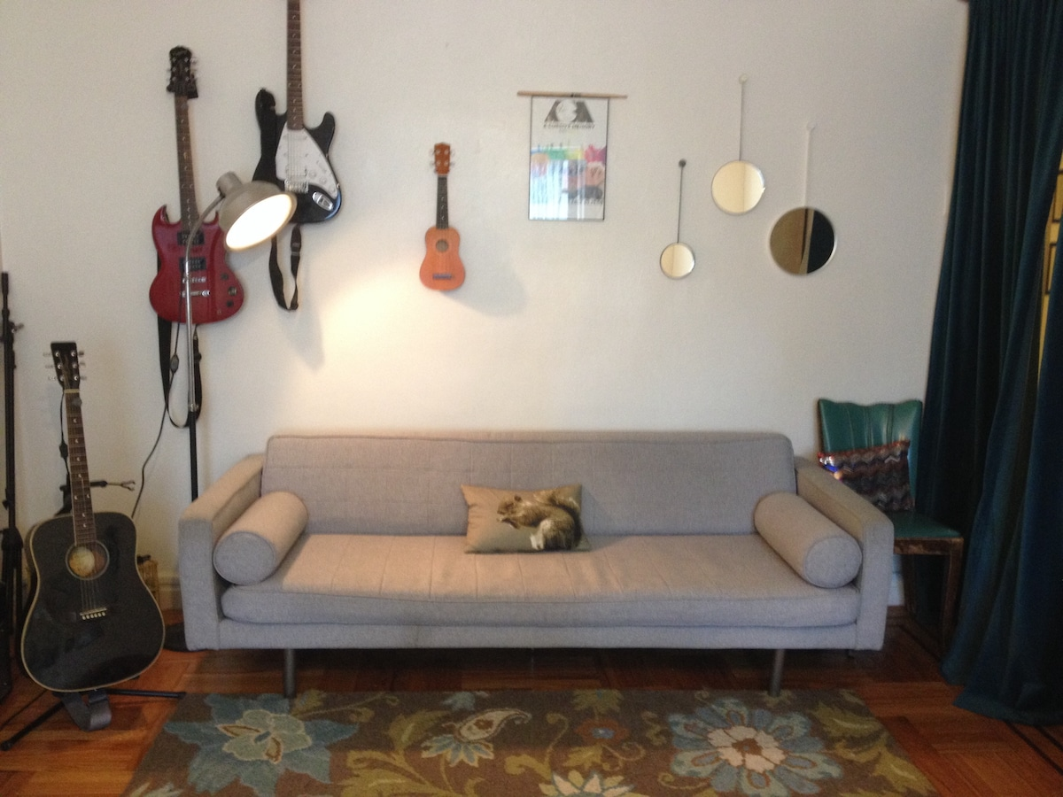 Large 20x12 private Room (2 cats)