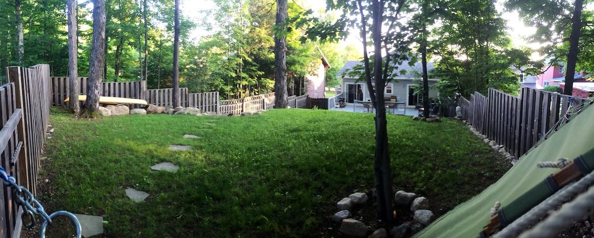 ADK Village Cottage in Summer!!!