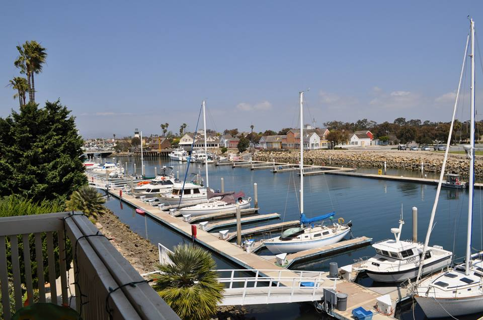 Deck view of the Channel Islands Harbor. Boat, kayak, paddle boat rentals one block walk!