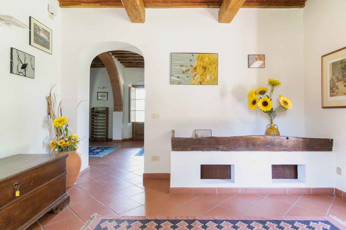 Restored farmhouse in Tuscany