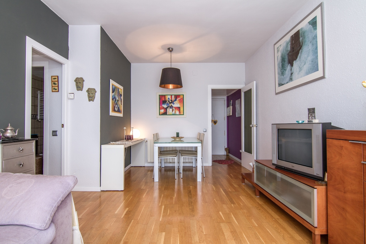 2bdroom flat with parking&terrace