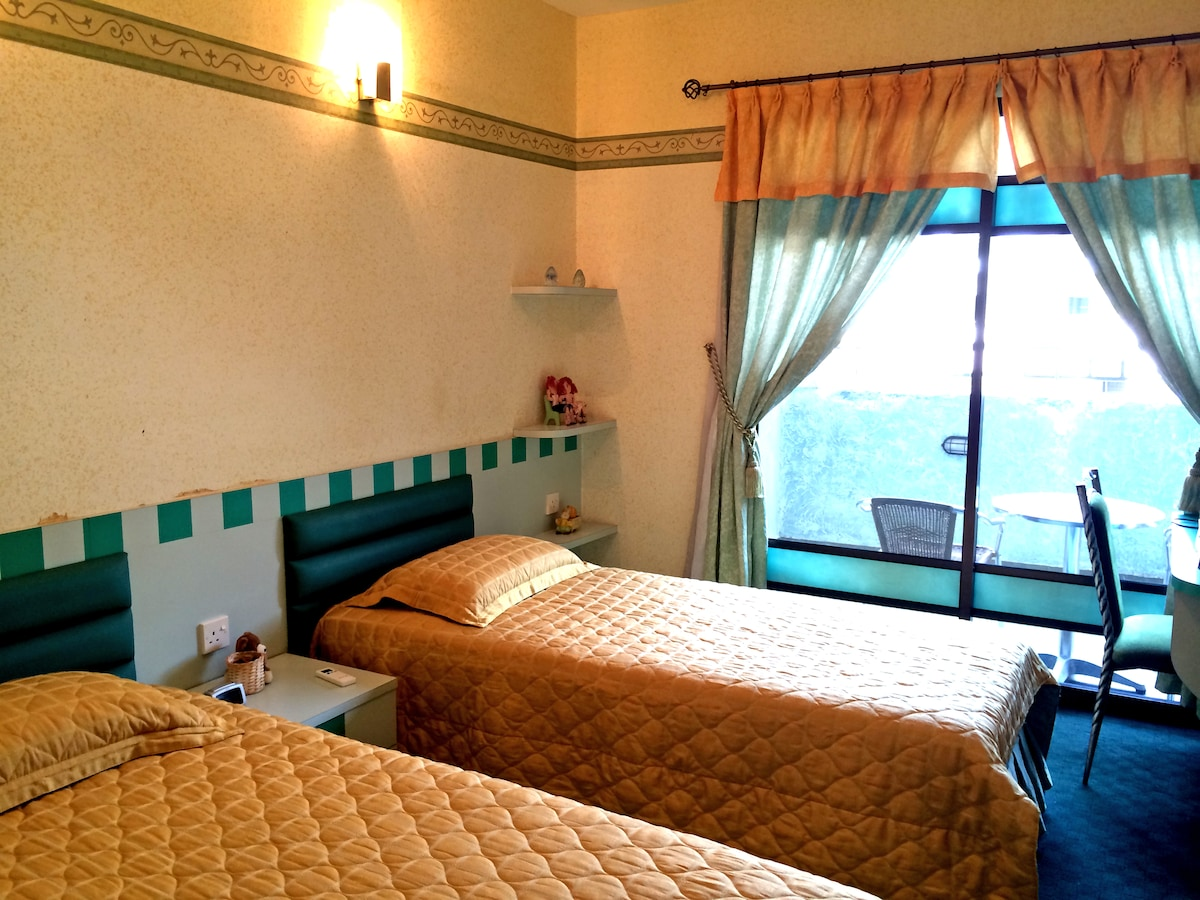 Bedroom #3 - Double Single Bed (2 pax)