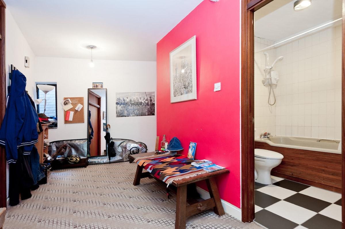 Hallway & your bathroom