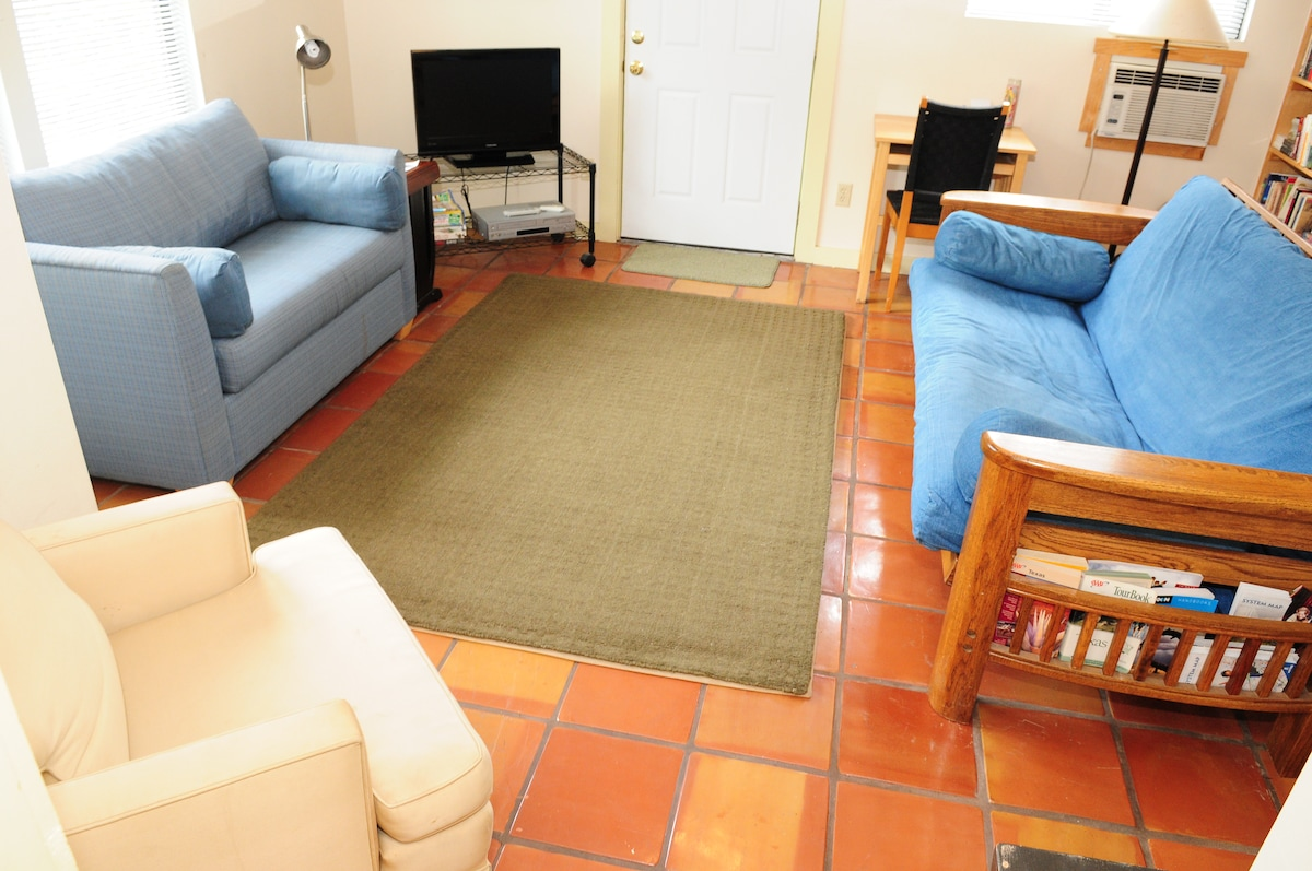 The Casita is spacious and welcoming!