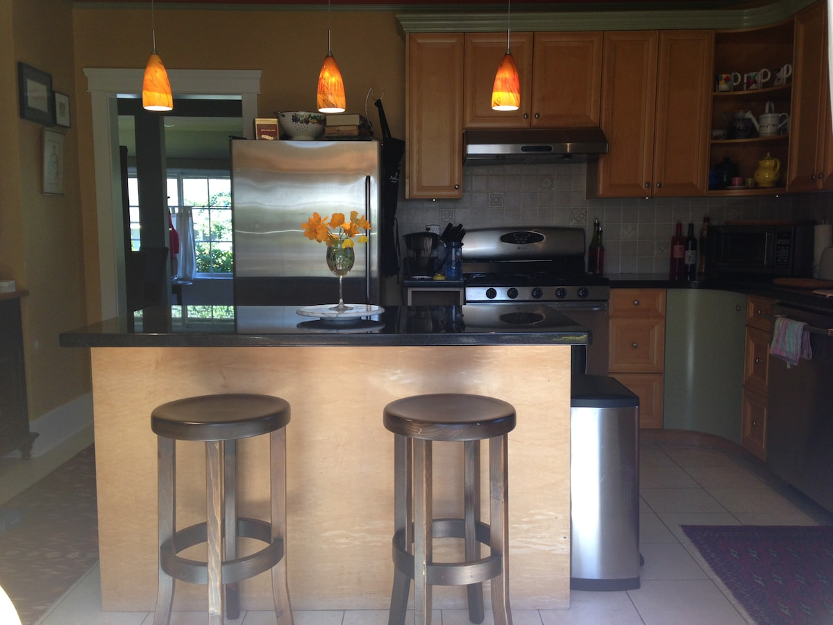 Large Kitchen shared in the Main House