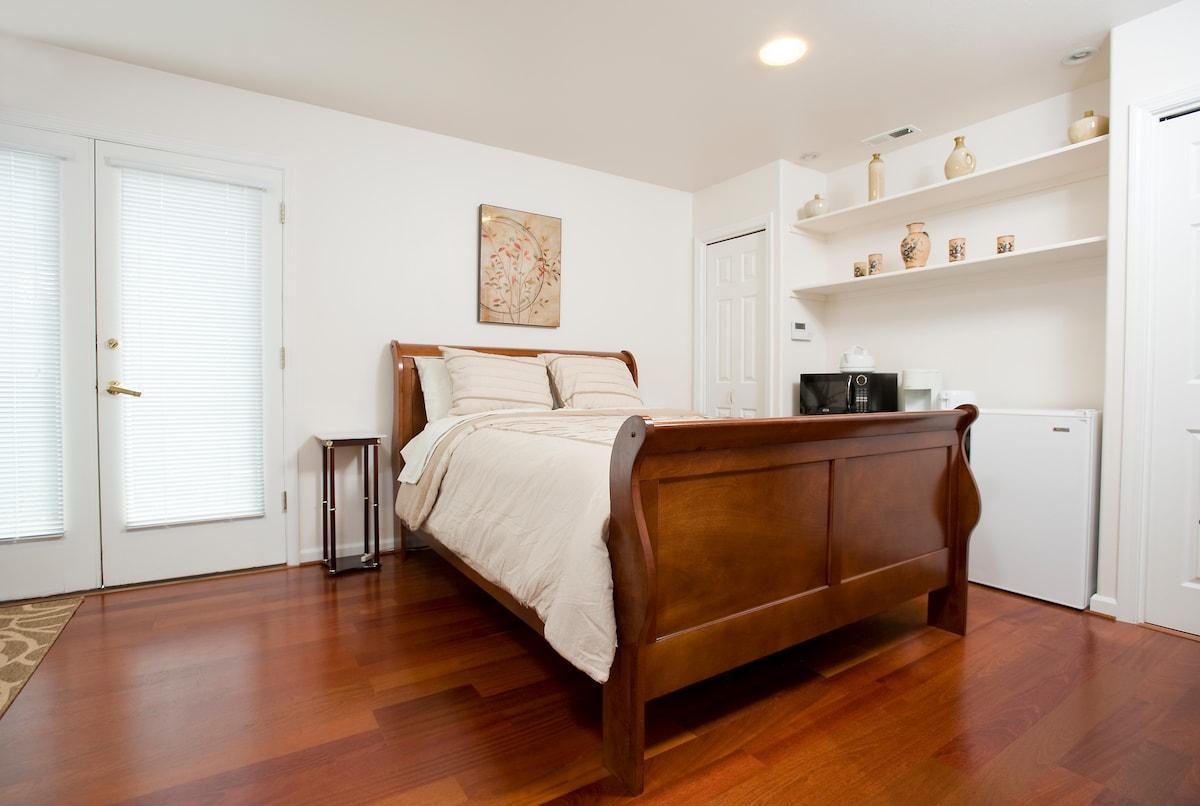 Beautiful Cherry hardwood flooring