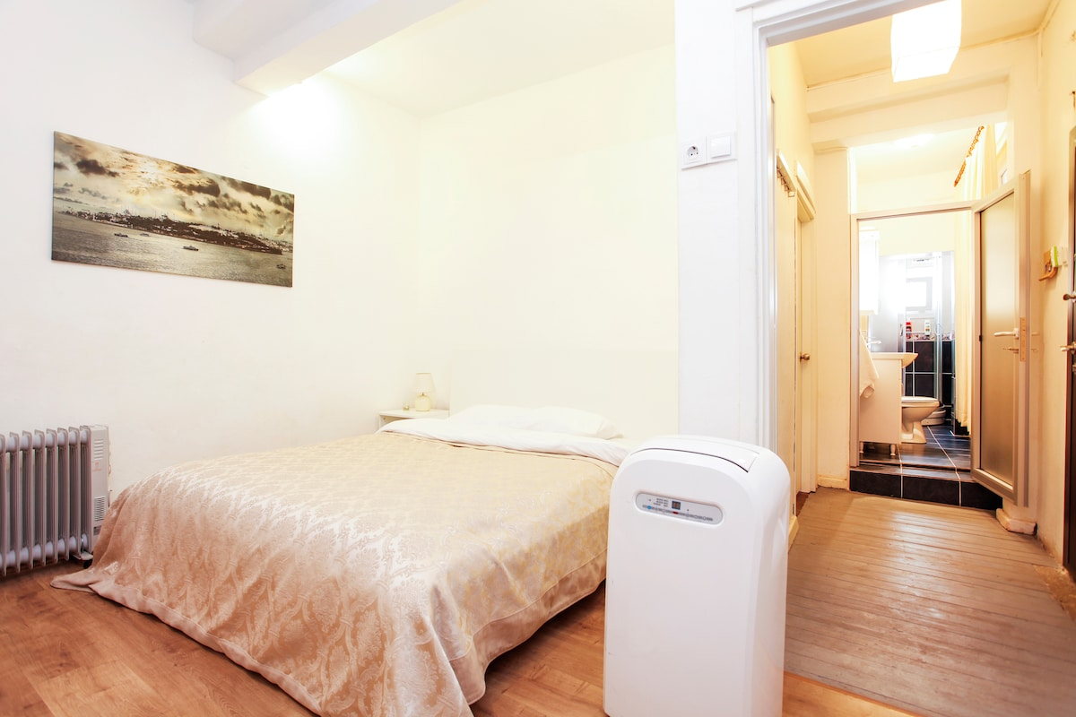 During winter months there are heaters and during summer a dehumidifer and fans.