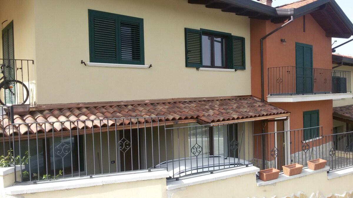 appartamento in villa 100 mq