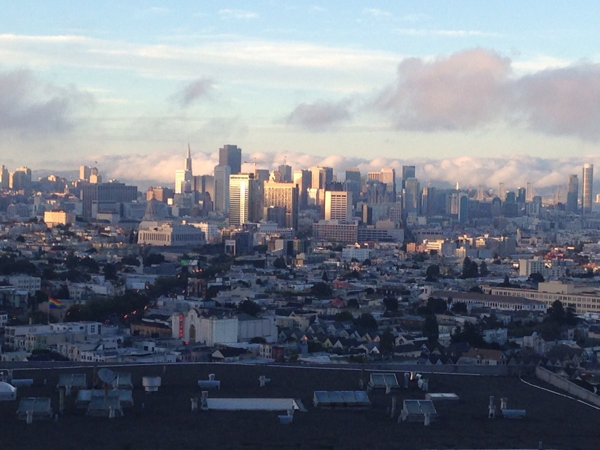 Stunning SF Bay View in The Castro