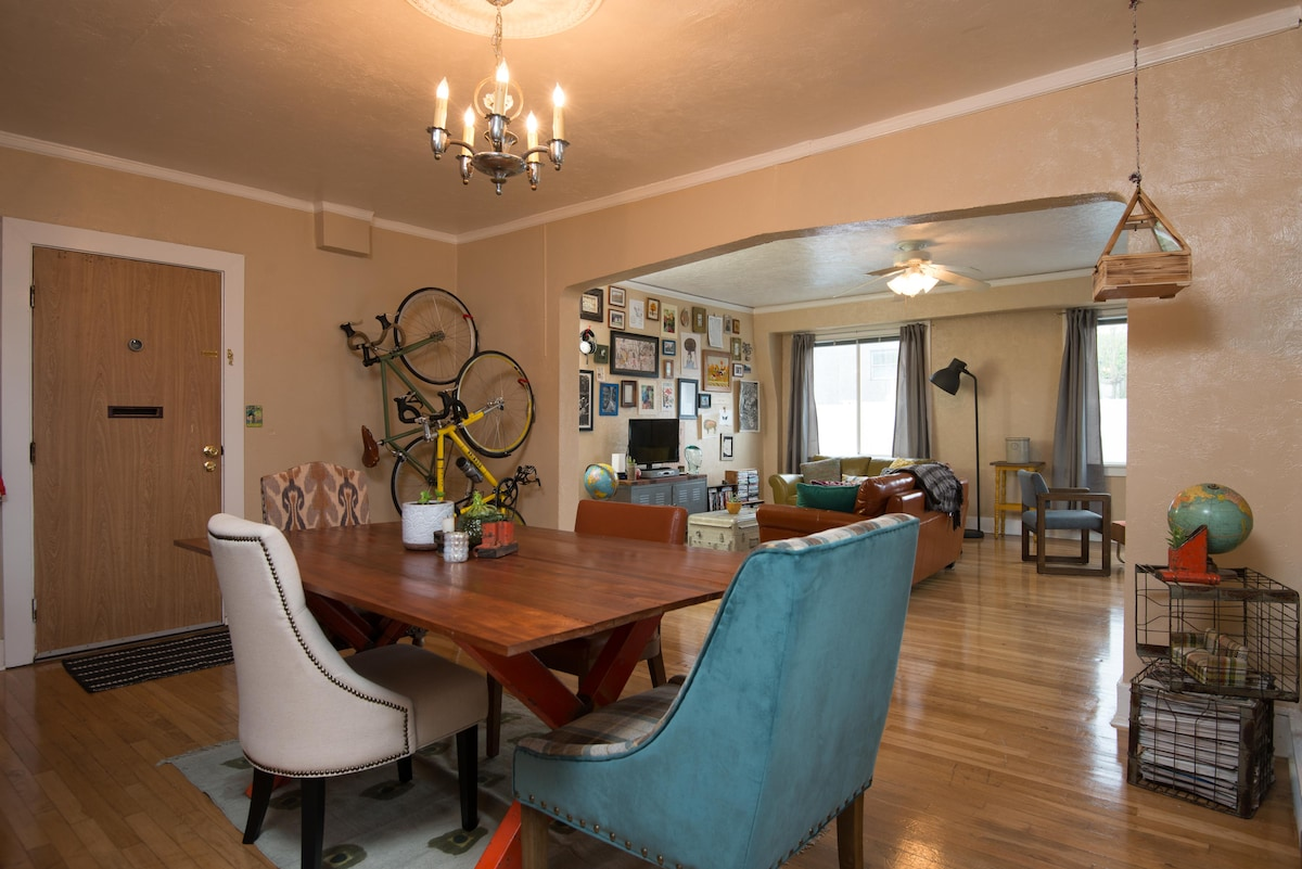 Charming apartment- N. Mississippi