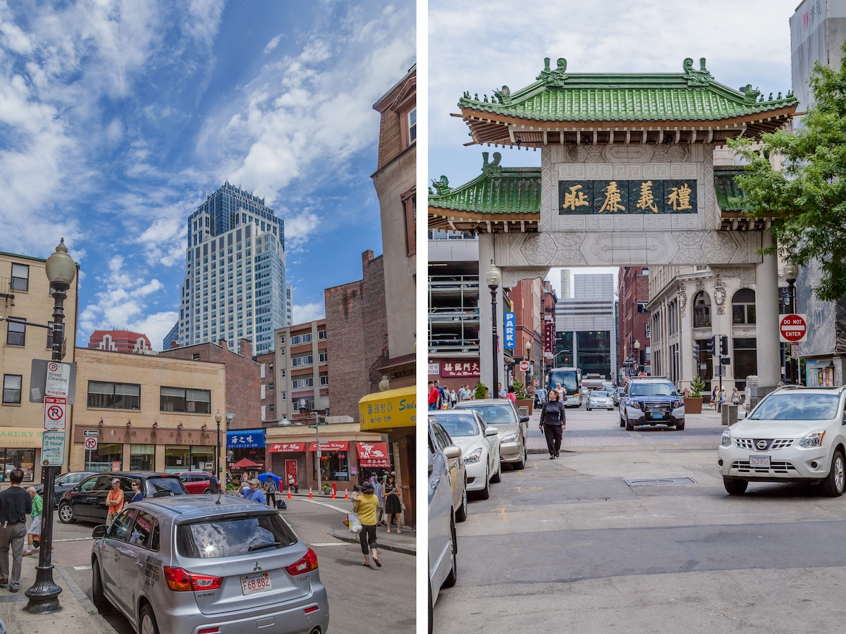 In the heart of Chinatown!