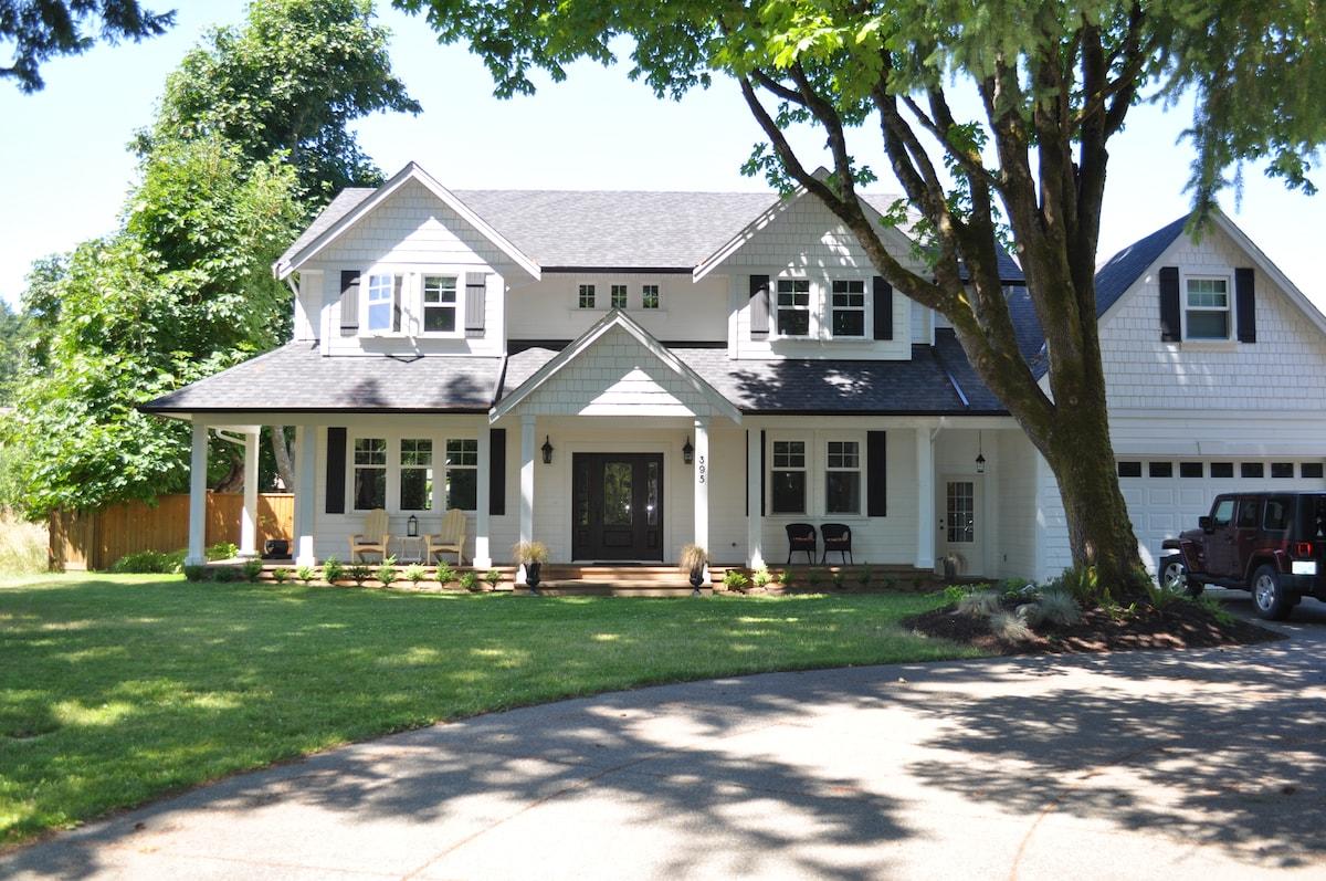 Comox Farmhouse Inspired Retreat