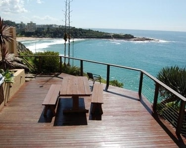 manly apartment with amazing views