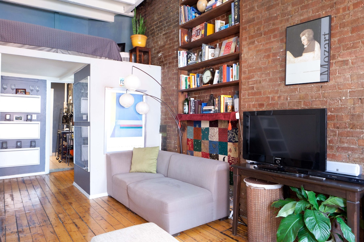 Shared Brick Loft in Heart of NYC