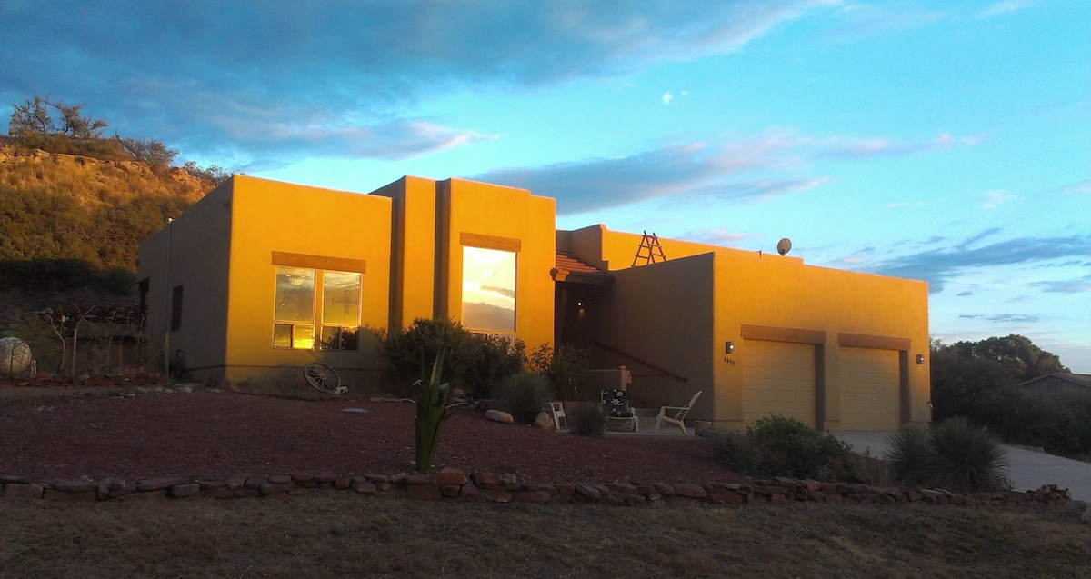 Custom Pueblo Home near Sedona