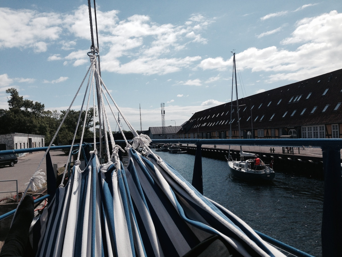 Houseboat in Copenhagen