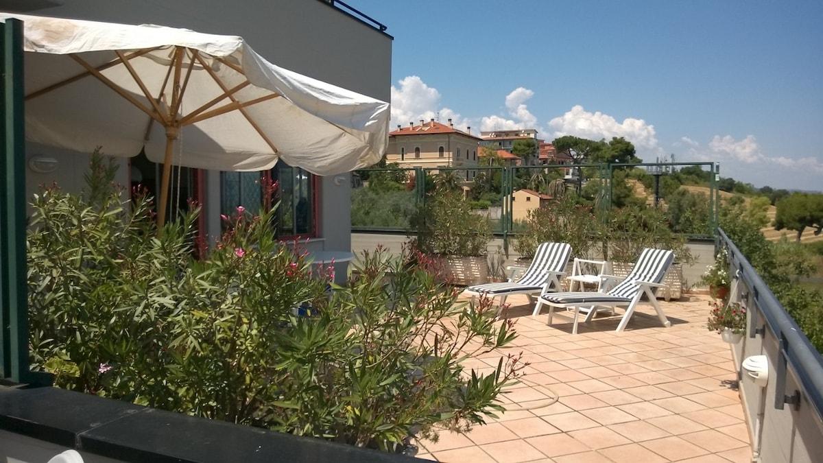 Ampio appartamento a Giulianova
