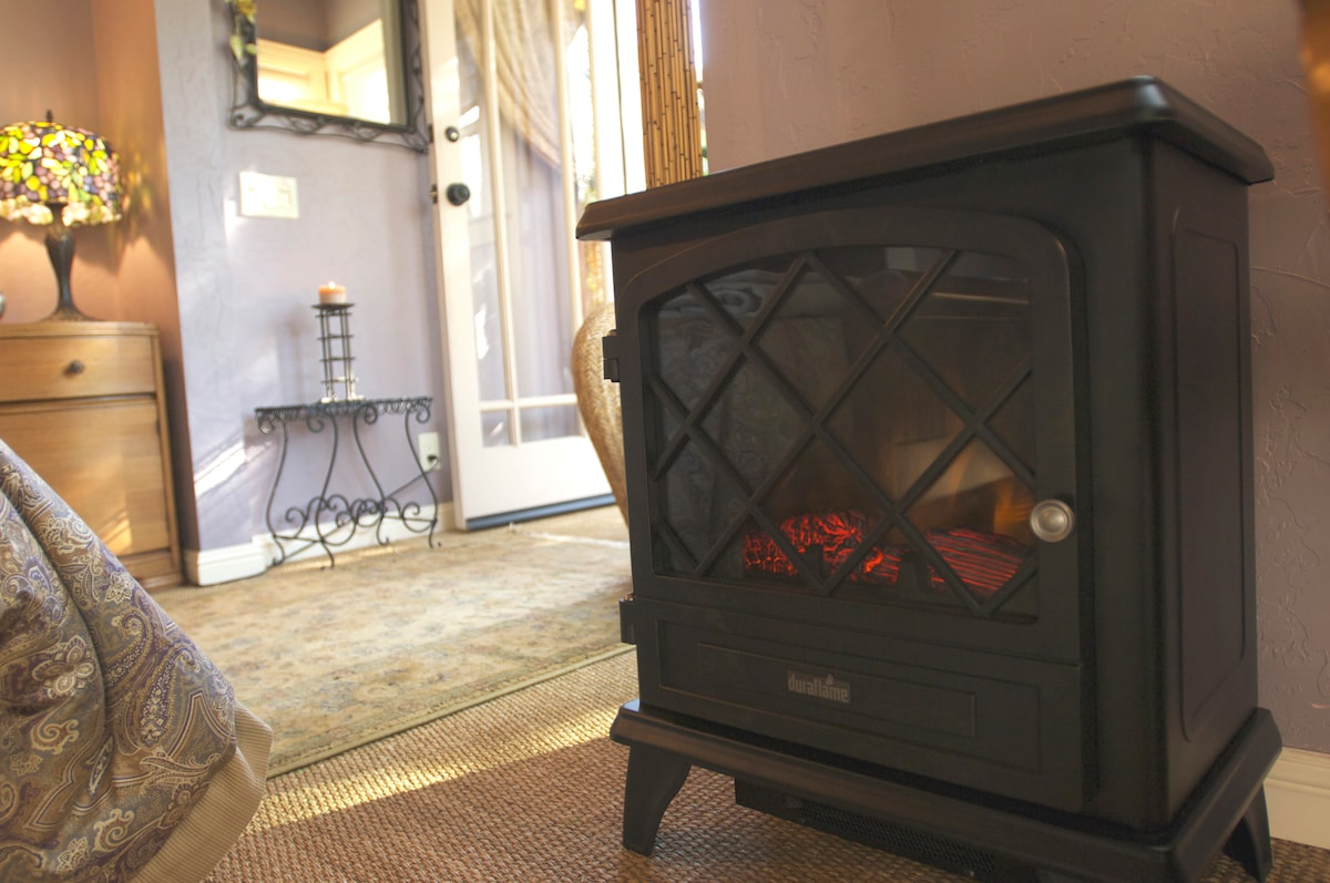 "Indoor heater and ""fireplace"""