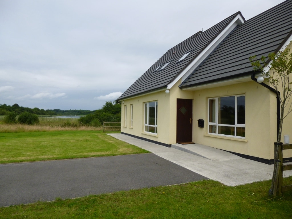 Front of house over looking wetlands