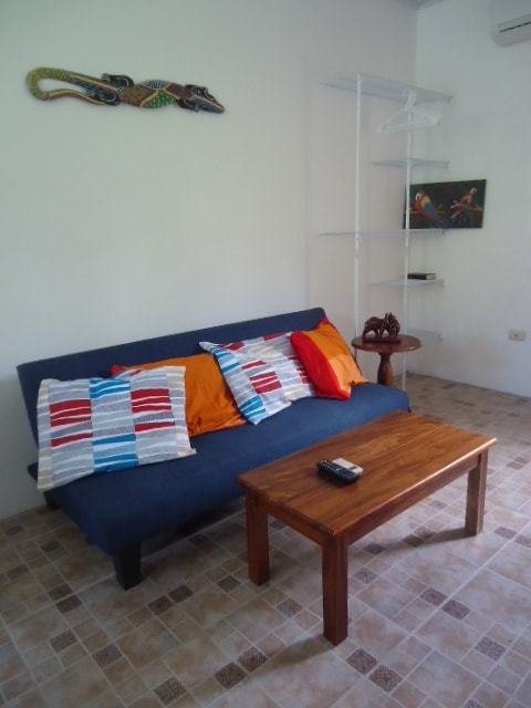 Sofa, TV, Internet (WiFi), Aire (AC)