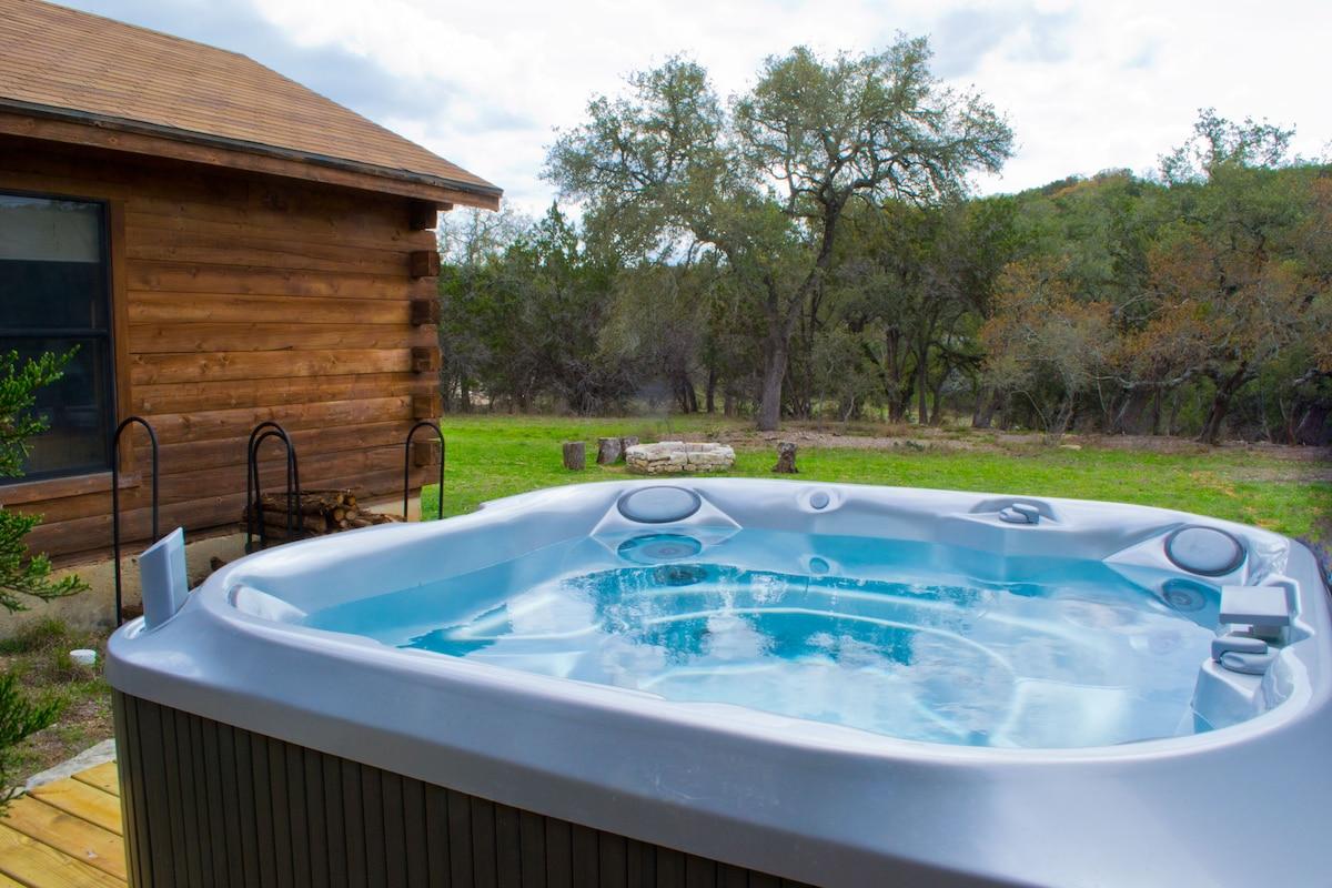 Romantic Log Cabin on Smith Creek