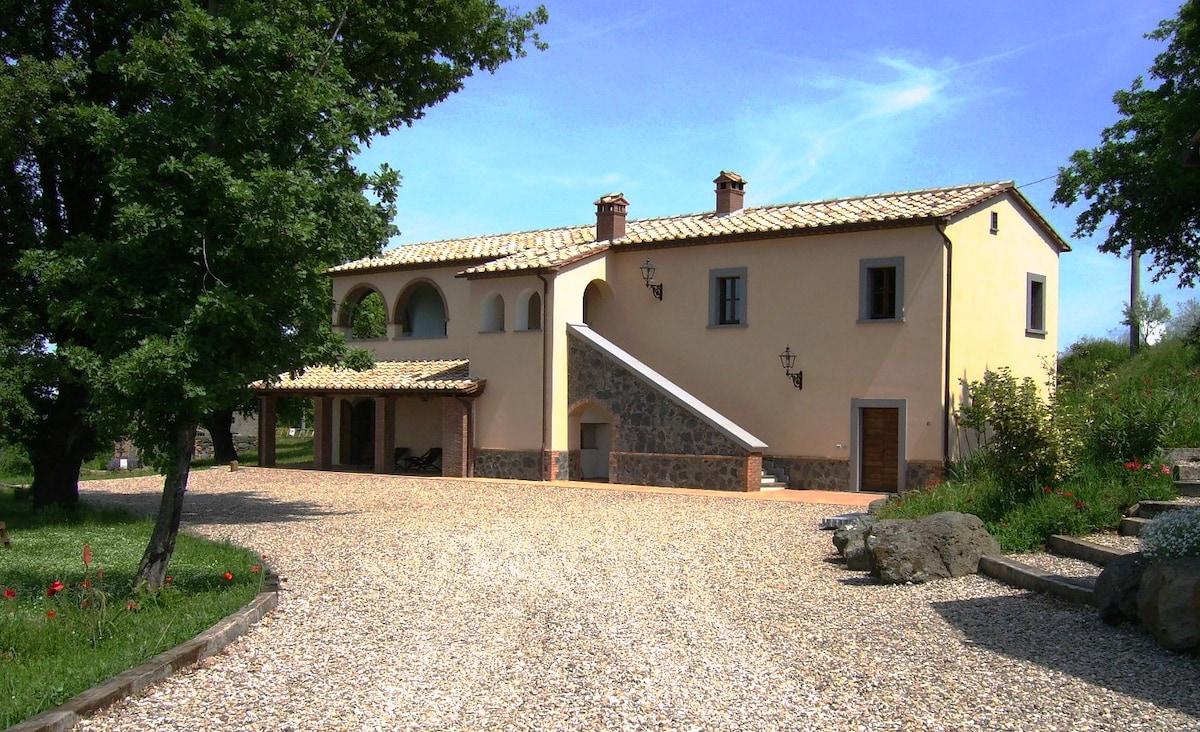 Orvieto Villa holiday apartment